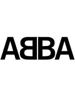 Logo du groupe ABBA