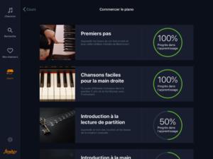 progresser en piano avec Flowkey