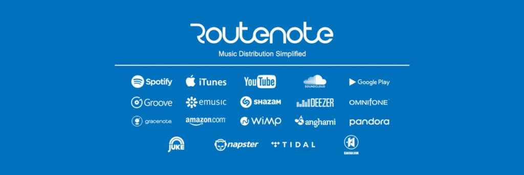 routenote distribution musicale