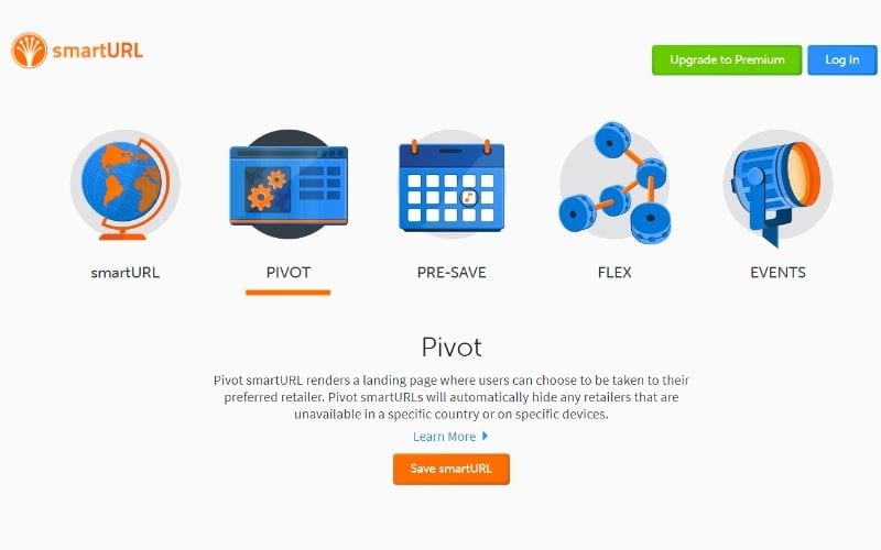 Smart-URL-Pivot-page