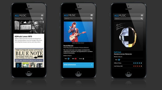 allmusic mobile