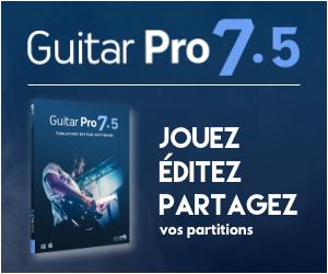 guitar pro 7.5 partitions
