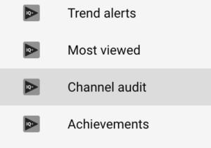 vidiq-channel-audit