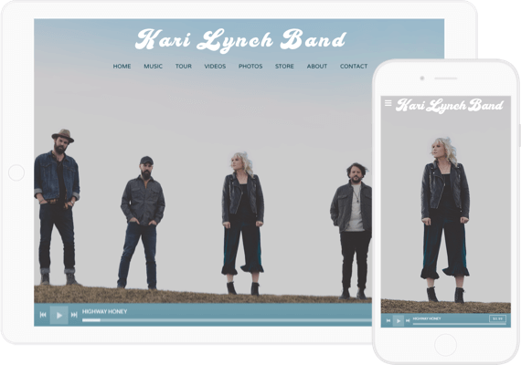 bandzoogle-site-musicien