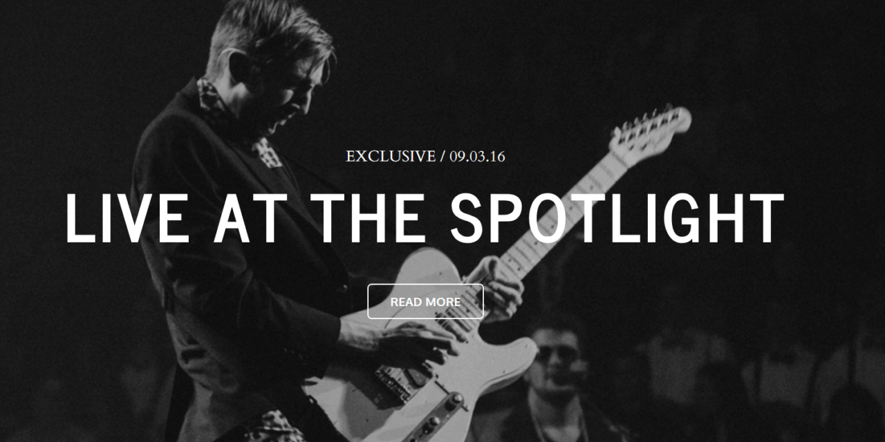 Créer un site de musicien