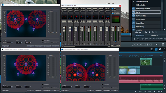 video prox son surround