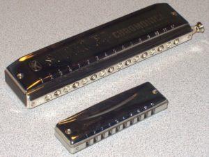 types d'harmonica