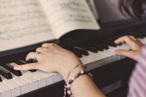 apprentissage de la musique